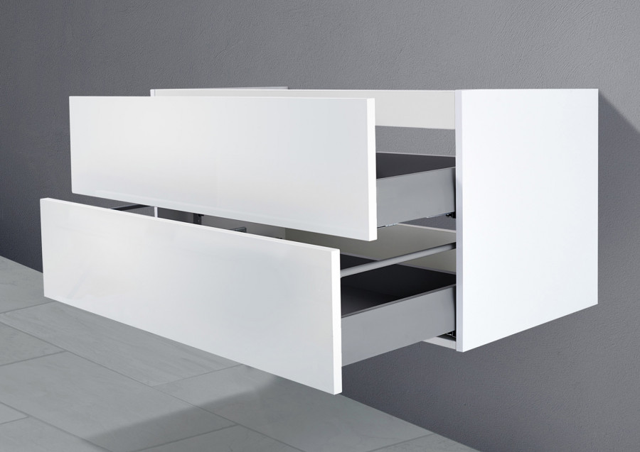 Unterschrank für Duravit Starck 3 85 cm Grifflos Push To Open + Softclose